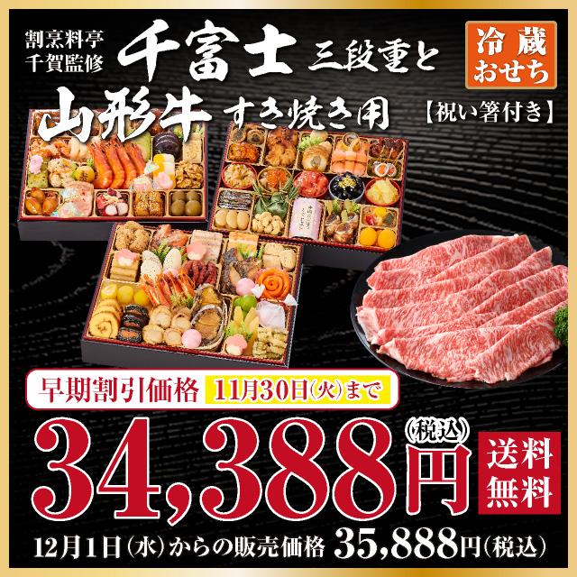 千富士と山形牛セット