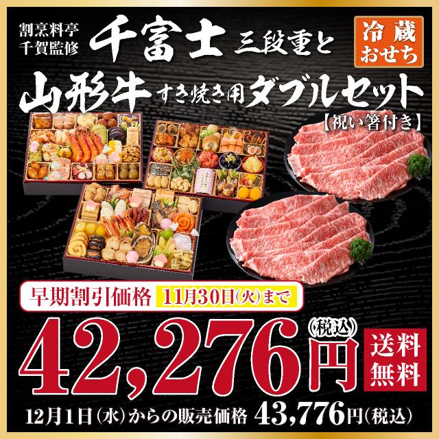 千富士と山形牛ダブルセット